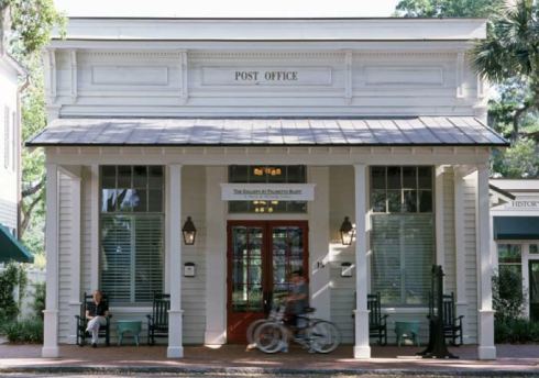 The Post Office at Palmetto Bluff by Historical Concepts.