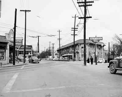 Early days in Little Five Points. Circa 1960.