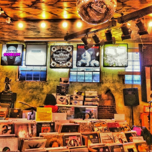 Criminal Records is home to vinyl, vivaciousness, and a fan base that vibes on all things Little Five.