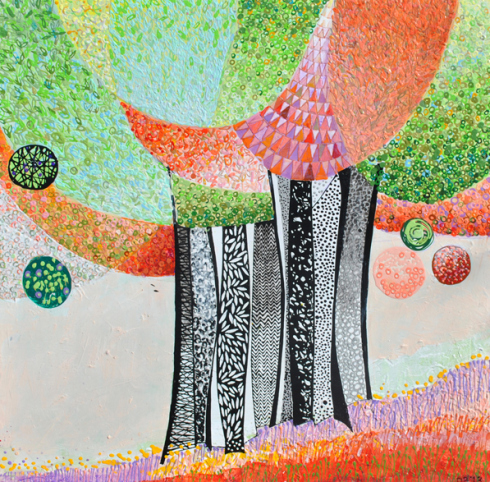 """Daniel Blignaut's """"A Conversation with Trees"""" opens at the Bill Lowe Gallery on April 26th."""