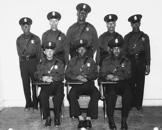 Atlantas First Eight Black Police Officers On April 30, 1948.
