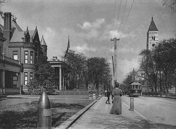 Peachtree Street, 1907.