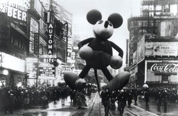 Early Days: The Macy's Thanksgiving Day Parade.