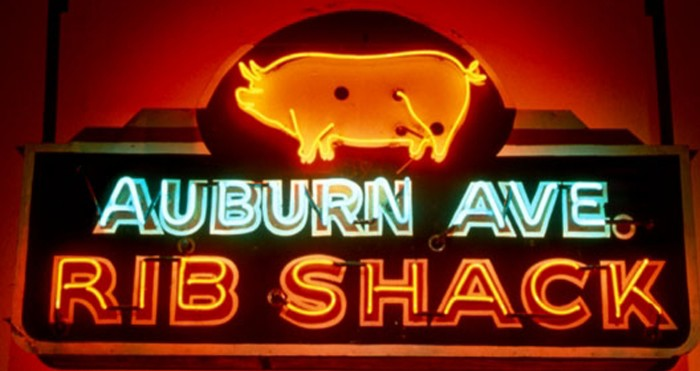 There's a rich history of barbecue across the world. Atlanta's Sweet Auburn Historic District producing some of the most savory memories.