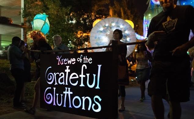 Atlanta BeltLine Lantern Parade lights up the community.