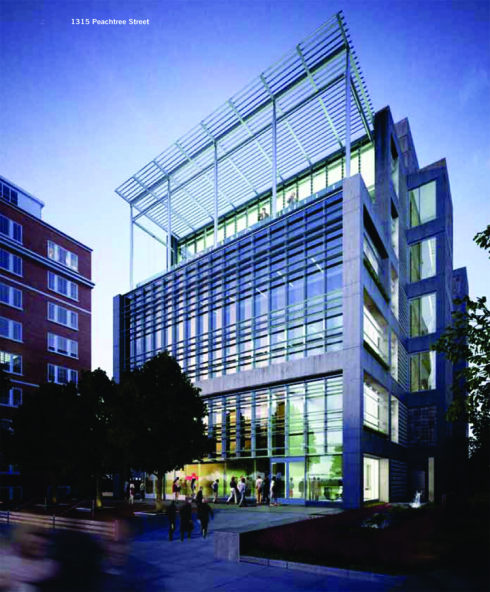 Perkins+Will Headquarters at 1315 Peachtree Street.